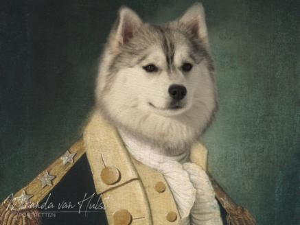 Jouw huisdier in de stijl van de oude meesters - MvH Fotografie - Fotograaf in Hellevoetsluis - Miranda van Hulst
