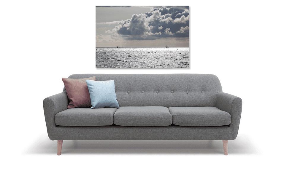 Vissersboten op de Waddenzee - werk aan de muur - MvH Fotografie - Fotograaf in Hellevoetsluis