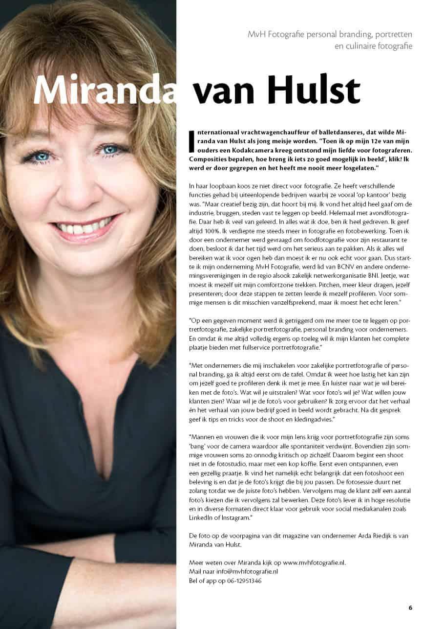 Interview met Miranda van Hulst van MvH Fotografie