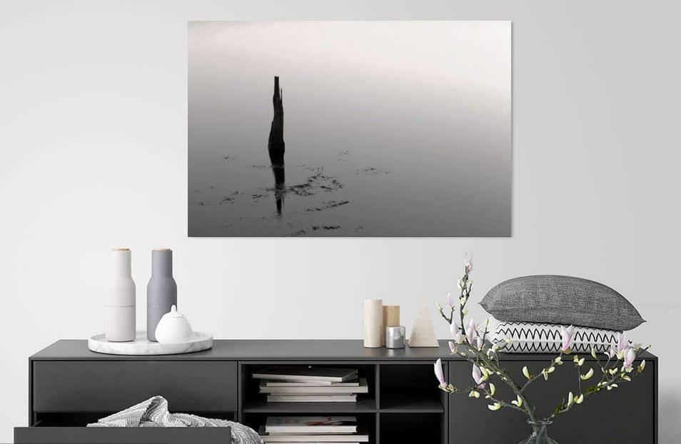 'Reflectie in zwart-wit' door Miranda van Hulst